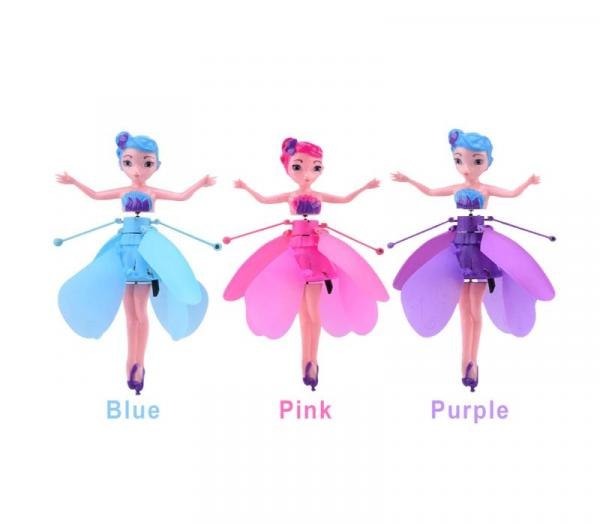 flying fairy drone colors
