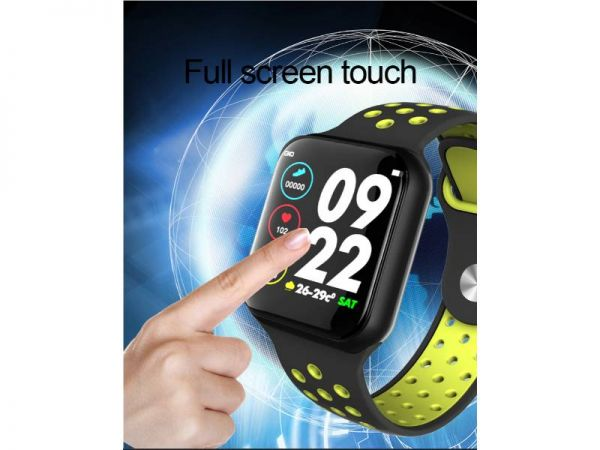 f8 health smart watch touch screen