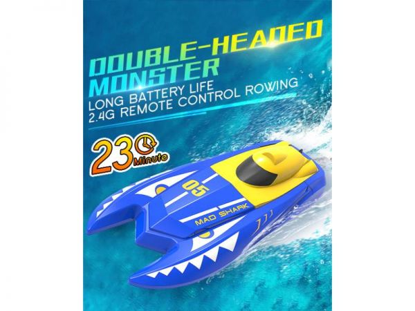 rc speed boat battery life