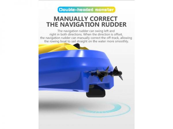 rc speed boat navigation