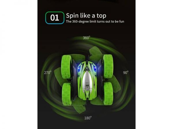 jjrc d828 rc stunt car3 60o spin