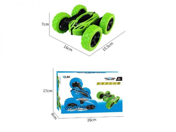 jjrc rc stunt car product size