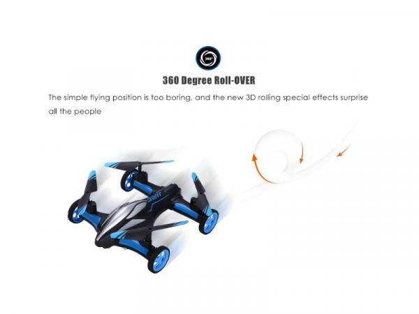 jjrc h23 drone 360o roll-over
