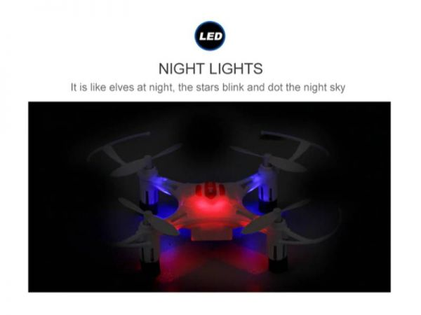 jjrc h8 drone led lights