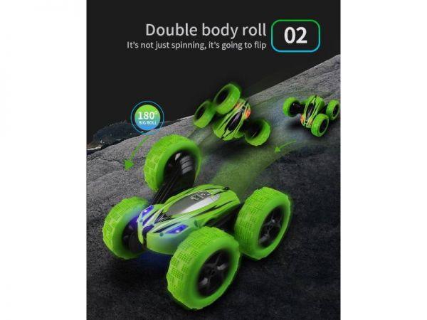 jjrc d828 rc stunt car double body roll