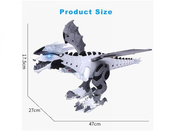 dinosaur electric toy dimensions