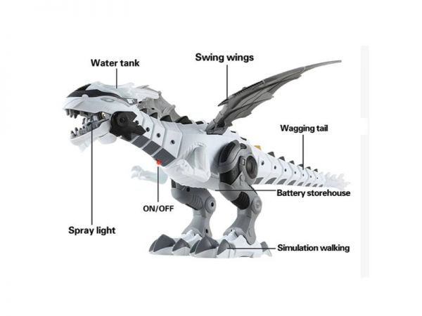 dinosaur electric toy parts