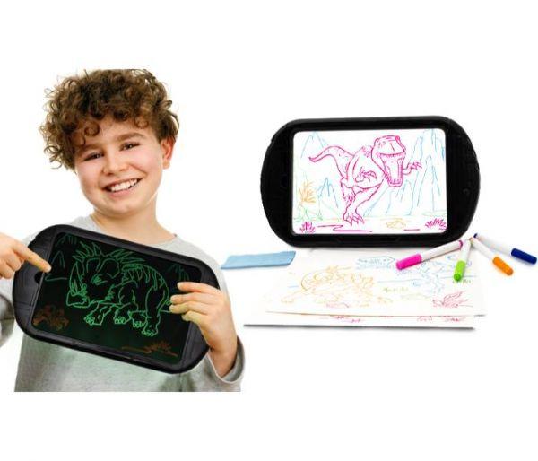 dinosaur 3d glow tablet