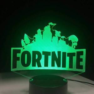 fortnite hologram lamp green