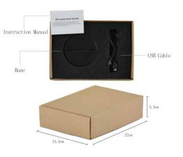 fortnite hologram lamp package