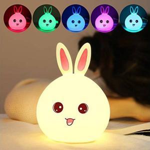 rabbit color changing lamp tap sensor