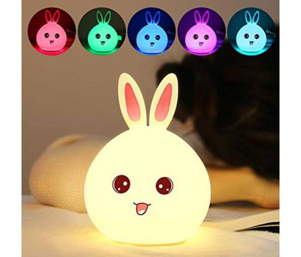 rabbit color changing lamp tap sensor