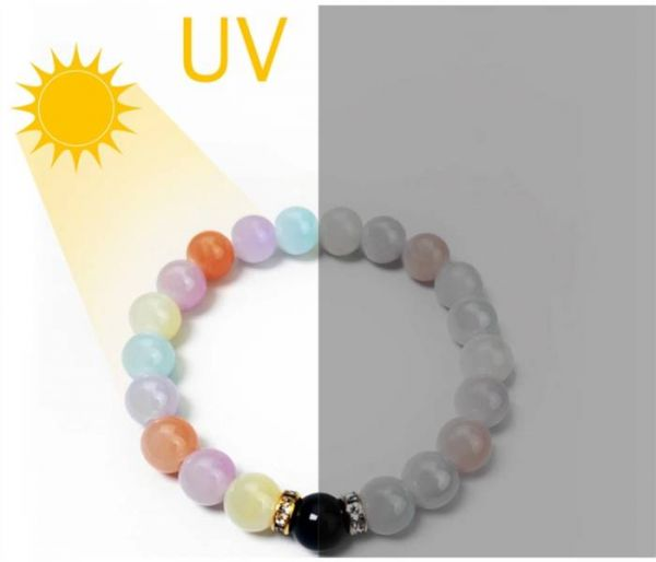 uv rainbow bracelet