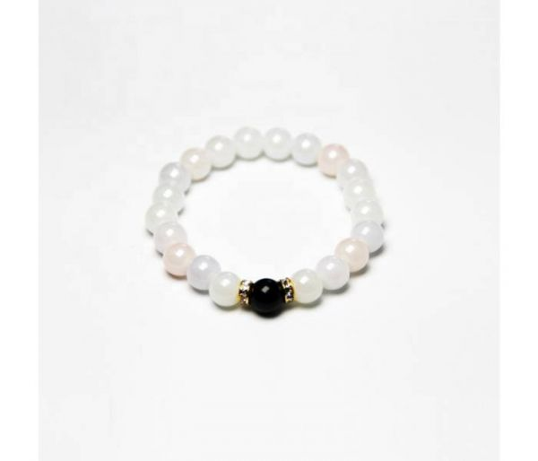 uv rainbow bracelet white