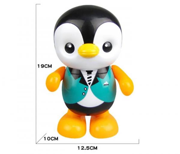 music dancing penguin toy dimensions