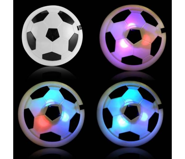 levitating soccer disc led lights
