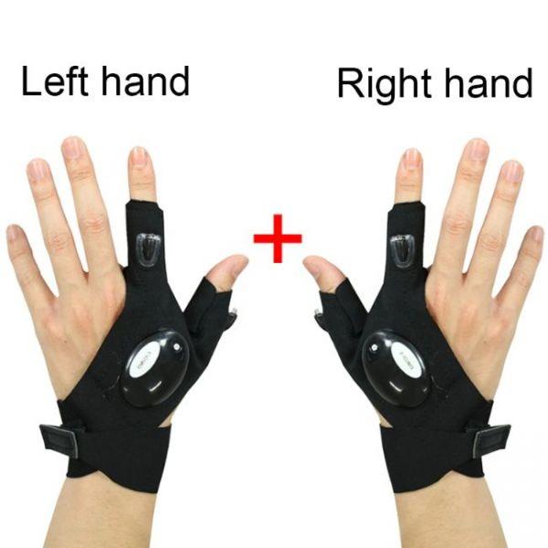 LED Flashlight Smart Waterproof Gloves