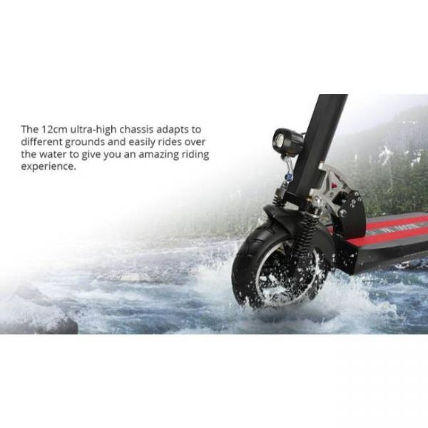 KUGOO M4 E-Scooter - Durable Tires