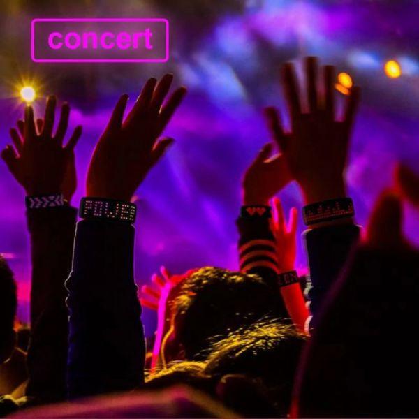 Futuristic LED Bracelet for concerts