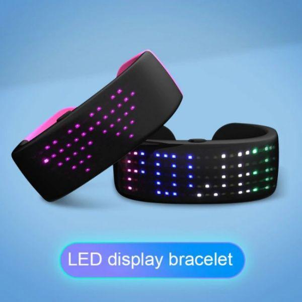 Futurist Led Bracelet display