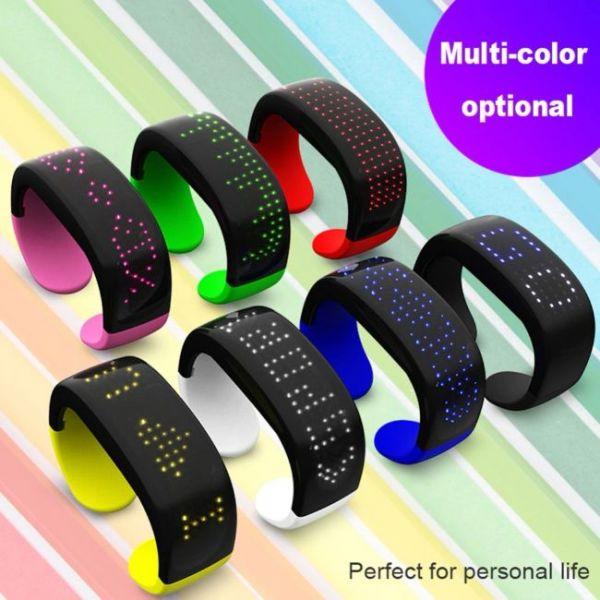 Futuristic LED bracelet various colors