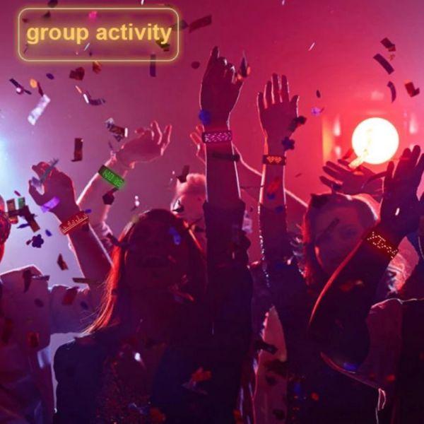 Futuristic LED Bracelet - A parties must