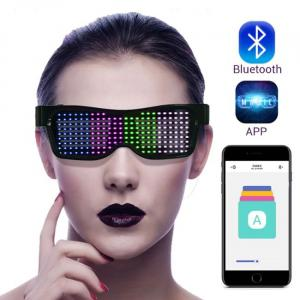 LED Bluetooth glasses Controlled by phone
