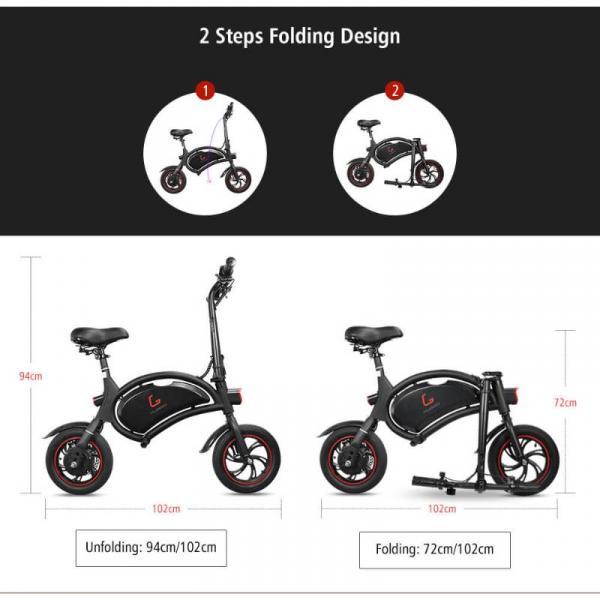 KUGOO B1 E-BIKE - How to fold