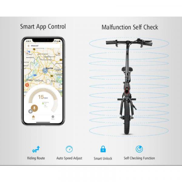 KUGOO B1 E-BIKE - Smartphone application