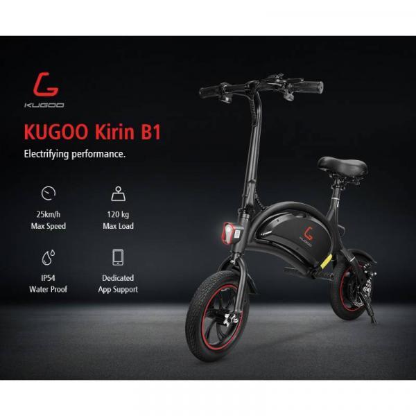 KUGOO B1 E-BIKE - specifications
