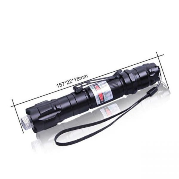 Green Laser Pointer with 10 miles wavelength - very specific dimensions