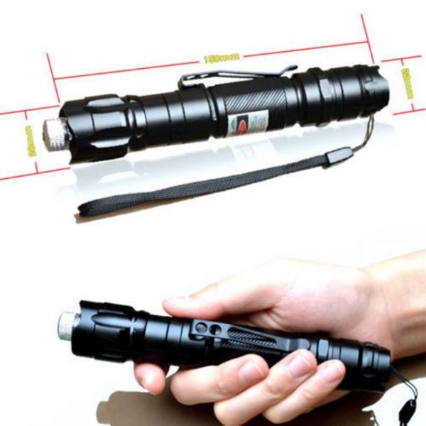 Laser pointer with distance of 10 miles - exact dimensions