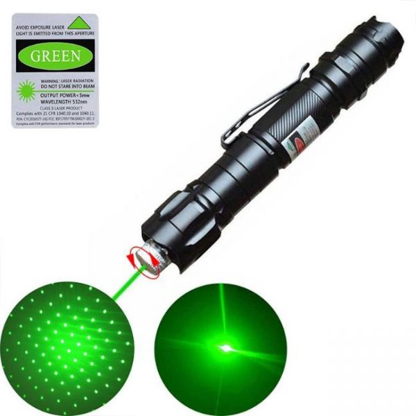 Laser pointer with 10 miles radius