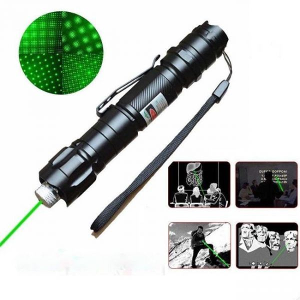 Green Laser Pointer with 10 miles distance - multiple uses