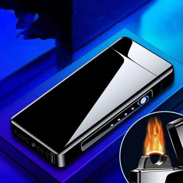 USB Arc Flame Plasma Lighter - Modern Design