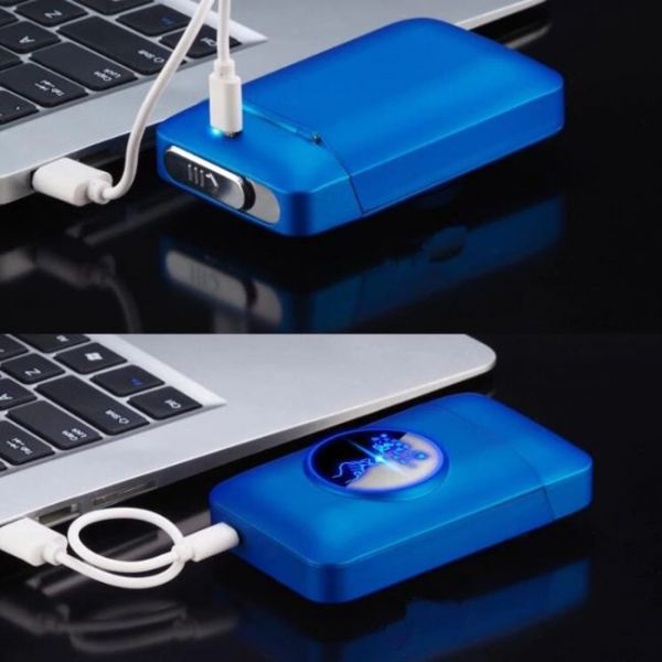 Touch sensor USB Lighter and Cigarette Box