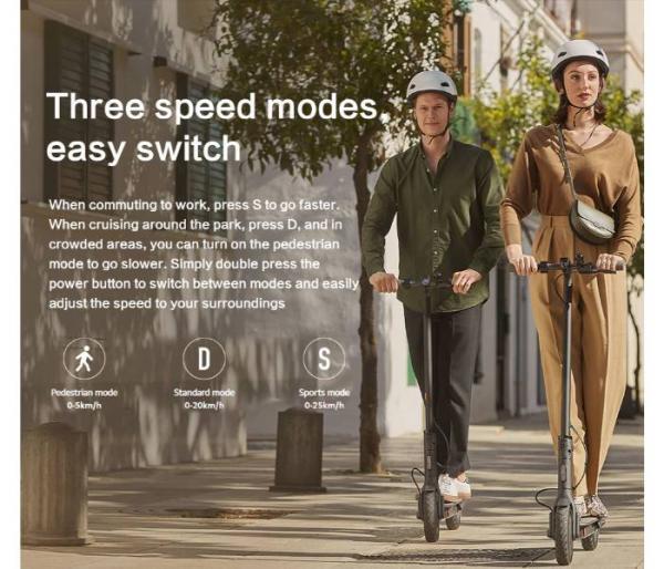 Xiaomi Mi 1S E-Scooter easy switch modes