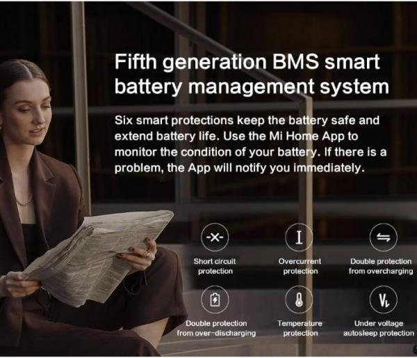 Xiaomi Mi 1S E-Scooter BMS system