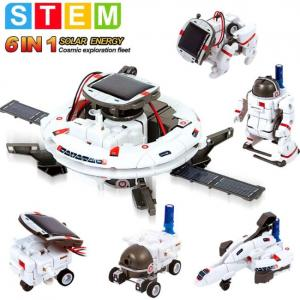 6 in 1 Educations Solar Robot Kit of STEM