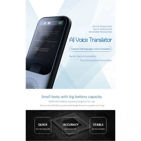 138 Languages Real Time translator - AI Voice Translator