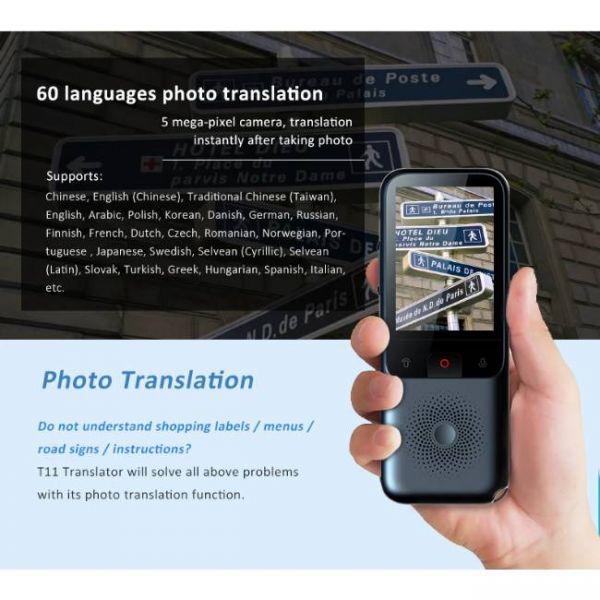 138 Languages Real Time translator - Photo Translation Function