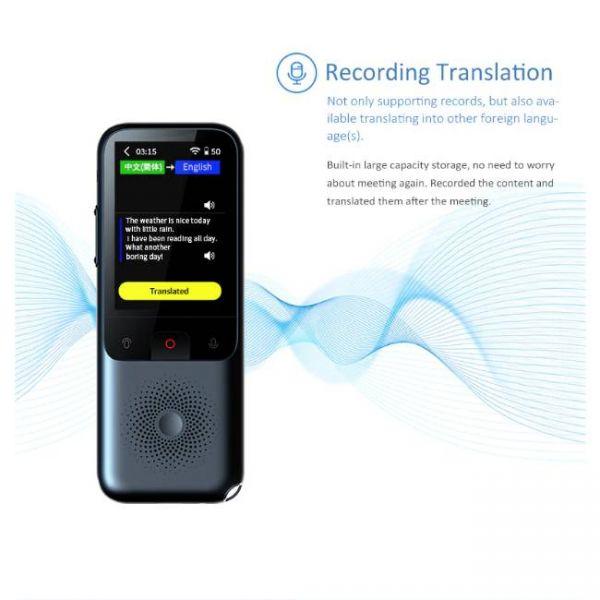 138 Languages Real Time translator - Translation Recording