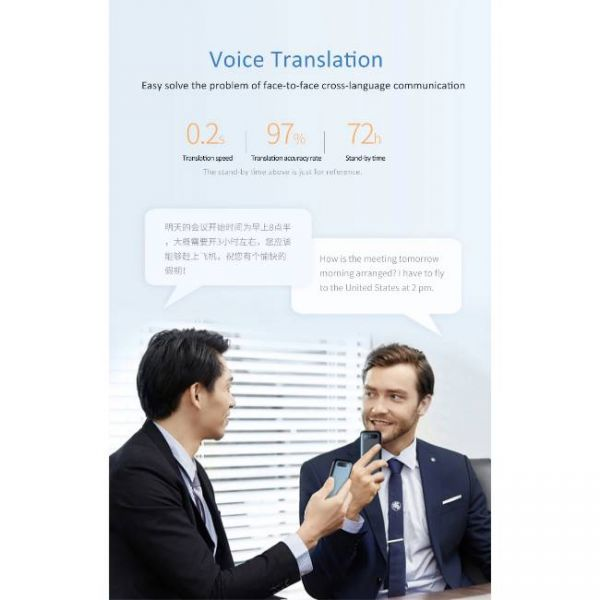 138 Languages Real Time translator with fast translation speed