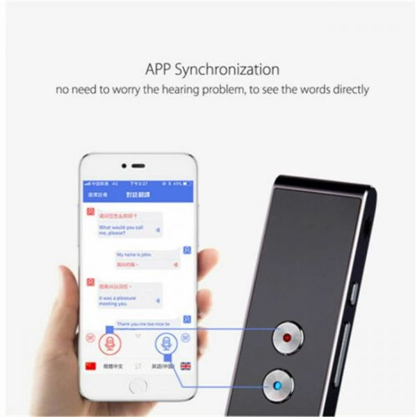 40 Languages Real Time voice translator that is compatible with many apps