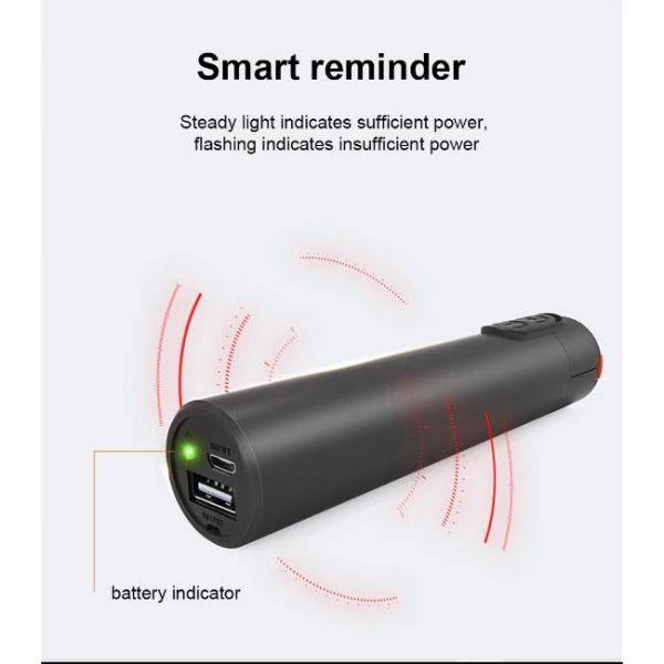Laser Pointer Visual Fault Locator with power reminder