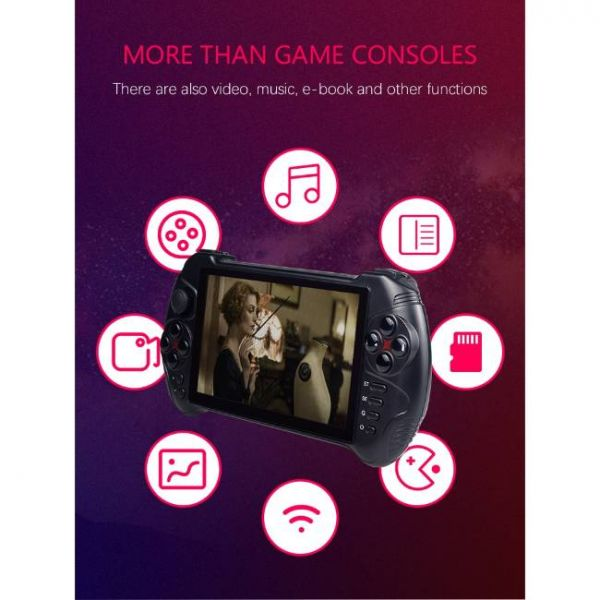 5.5 Inches Android Handheld Game Console with various media