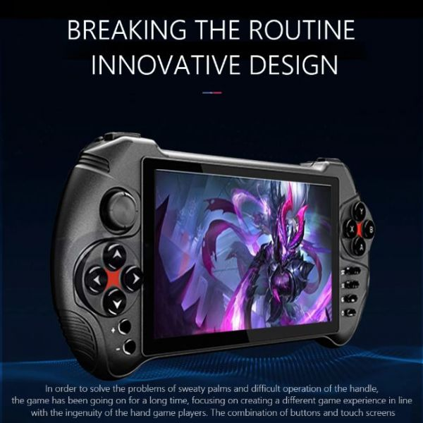 5.5 Inches Android Handheld Game Console with innovative design