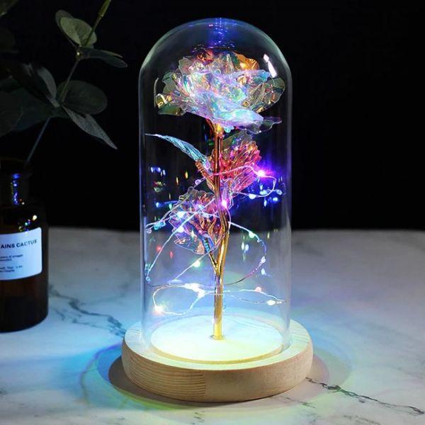 rose led flashing lamp