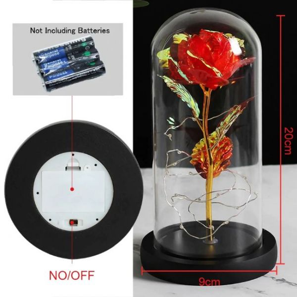 rose led flashing lamp - List of items