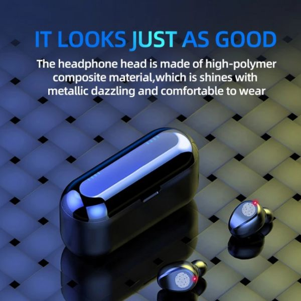 F9 wireless earphones with crystal sound and best quality